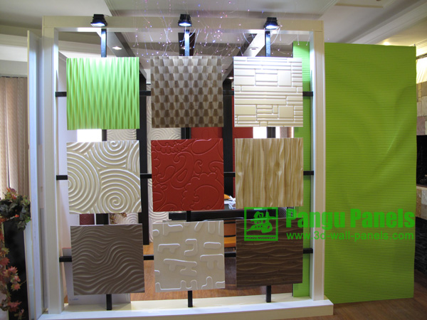 3D Drywall Panels