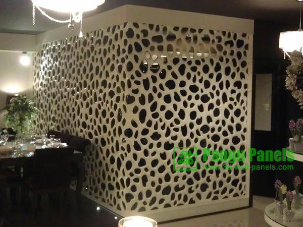 decorative wall screens in dining room designs