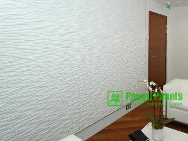textured wallpaper panels