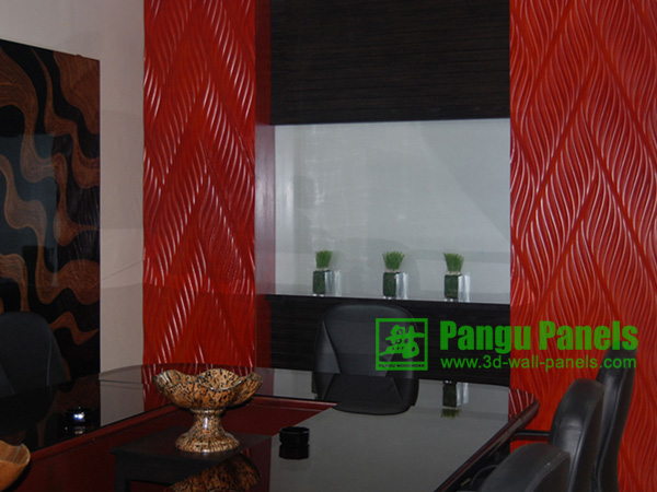 wave wall panels 3d mdf