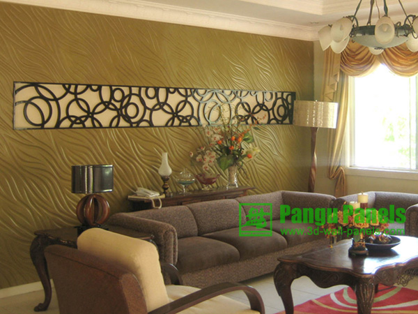 Wavy Mdf Panels WP3015 In Living Room Decoration