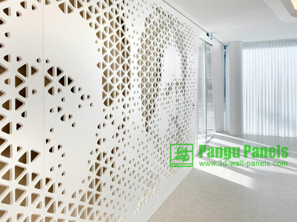 Interior Grille Wall Design