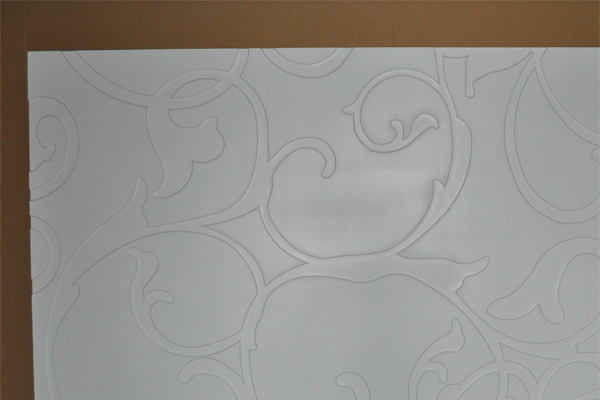 3d wall finishes - Primer finish