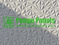3d mdf panel diamond design