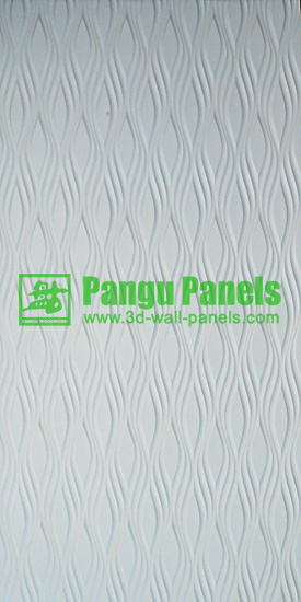 white decorative drywall panels