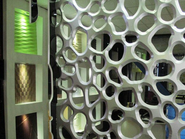 Decorative grille panels 3d wall - Fancy wall designs ...