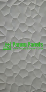 3d mdf wall panel lake desin