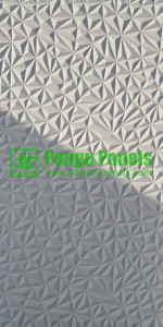 New 3d wall panel diamond design